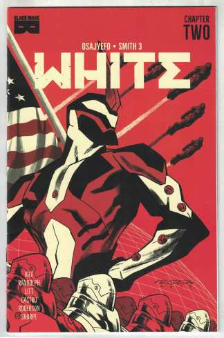 White #2 Randolph 1st Print Cover A Black Mask 2021 Limited 2500 Copies VF/NM