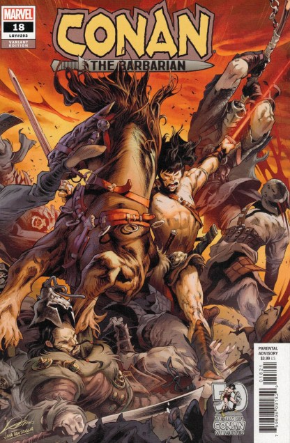 Conan the Barbarian #18 1:25 Alexander Lozano Variant Marvel 2021