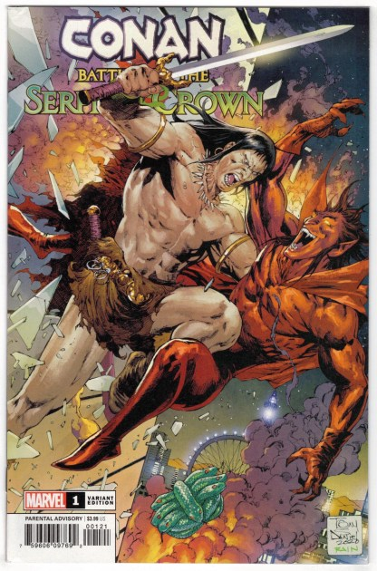 Conan Battle for the Serpent Crown #1 1:25 Tony Daniel Variant 2020 VF/NM