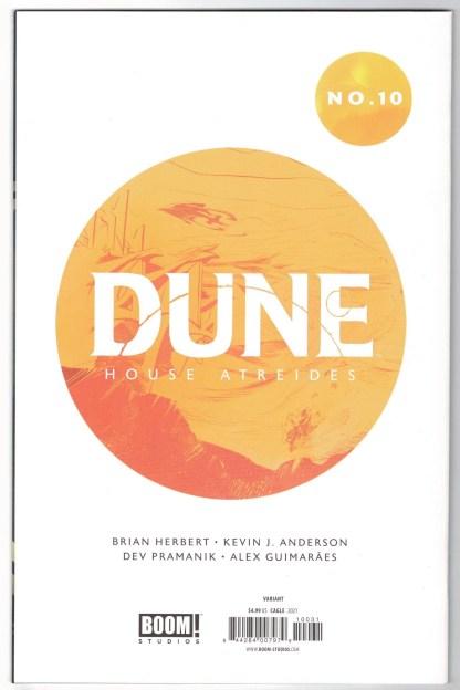 Dune House Atreides #10 1:25 Evan Cagle Virgin Variant Boom 2020 VF/NM