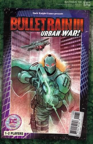 Batman #114 1:25 Dylan Teague Video Game Box Variant DC 2016