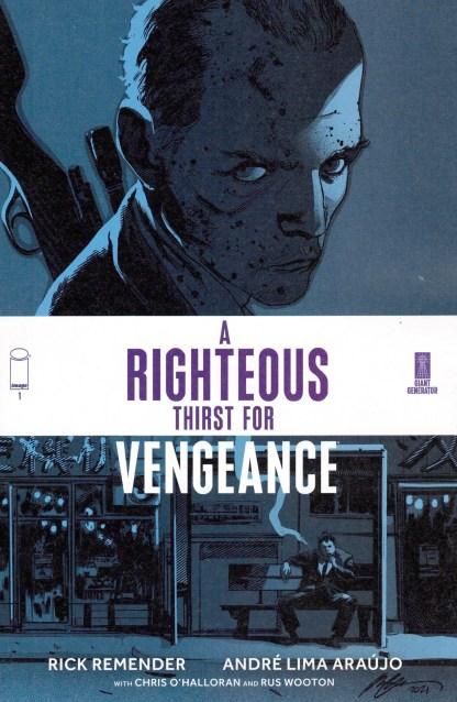 Righteous Thirst for Vengeance #1 1:50 Rafael Albuquerque Variant Image 2021