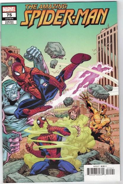 Amazing Spider-Man #75 1:25 Ron Frenz Variant Marvel 2018 VF/NM