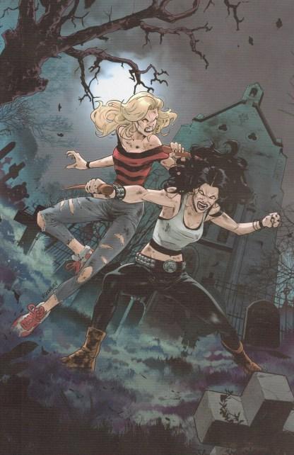 Buffy the Vampire Slayer #30 Unlockable Vasco Georgiev Variant Boom 2019