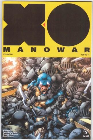 X-O Manowar #11 1:50 Jay Anacleto Variant Valiant 2017 Matt Kindt VF/NM