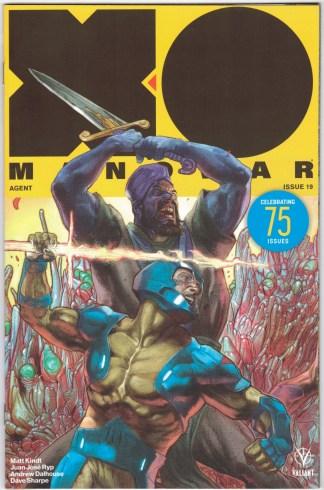X-O Manowar #19 1:20 Renato Guedes Variant Valiant 2017 Matt Kindt VF/NM