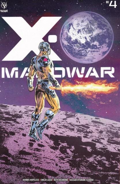 X-O Manowar #4 1:25 Michael Walsh Variant Valiant 2020 Dennis Hopeless