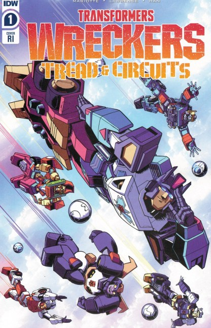Transformers Wreckers Tread & Circuits #1 1:10 Nick Roche Variant IDW 2021