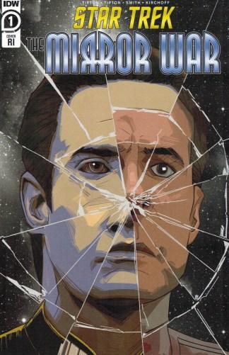 Star Trek Mirror War #1 1:15 Mark Alvarado Variant IDW 2021