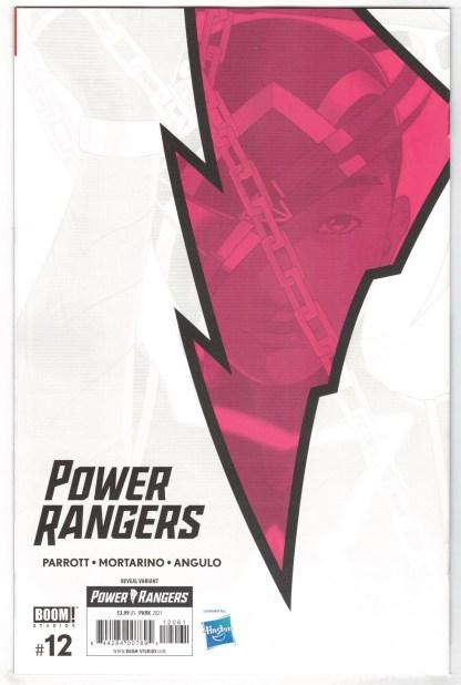 Power Rangers #12 Yejin Park Reveal Variant Boom 2020 VF/NM