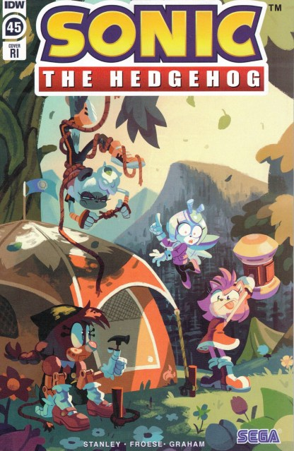 Sonic the Hedgehog #45 1:10 Nathalie Fourdraine Variant IDW 2018