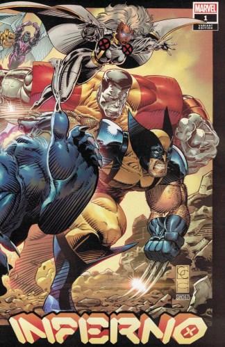 Inferno #1 1:50 Greg Capullo Variant Marvel 2021