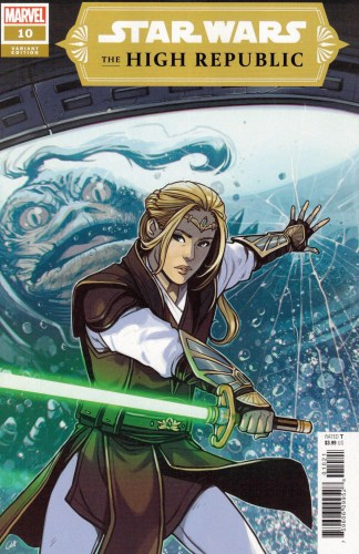 Star Wars High Republic #10 1:25 Caspar Wijngaard Variant Marvel 2021