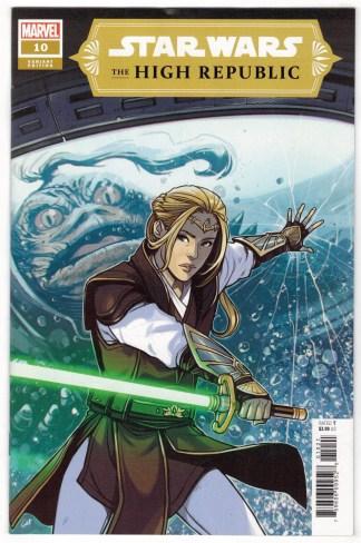 Star Wars High Republic #10 1:25 Caspar Wijngaard Variant Marvel 2021 VF/NM
