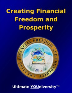 Creating Financial Freedom and Prosperity, One of 14 Living Skills Categories