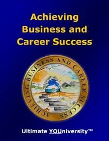 Achieving Business & Career Success - Strategic Marketecture