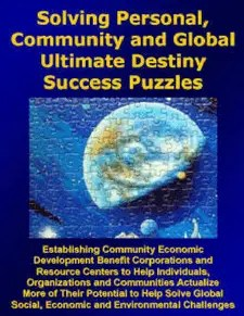 Solving Personal, Community and Global Ultimate Destiny Success Puzzles - Strategic Marketecture