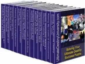 Successful Living Skills Series - Ultimate Destiny Success System