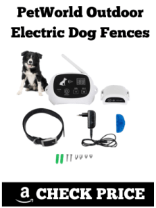 PetWorld Outdoor Electric Dog Fences