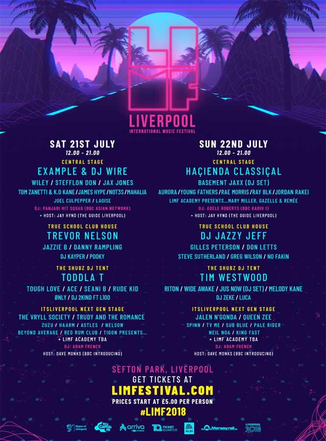 Liverpool International Music Festival 2018 UK