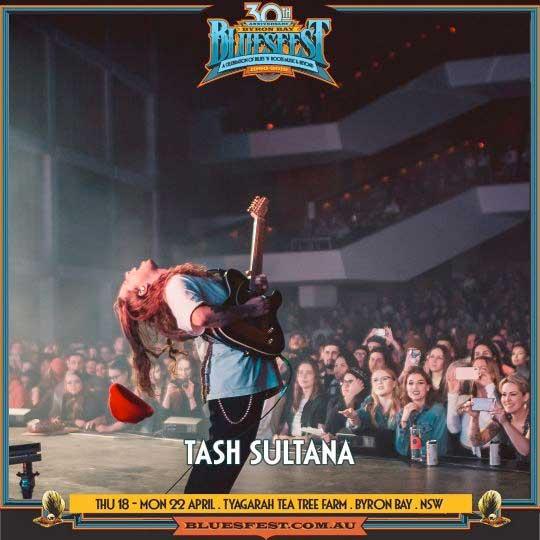 Tash Sultana to play Bluesfest Byron Bay 2019