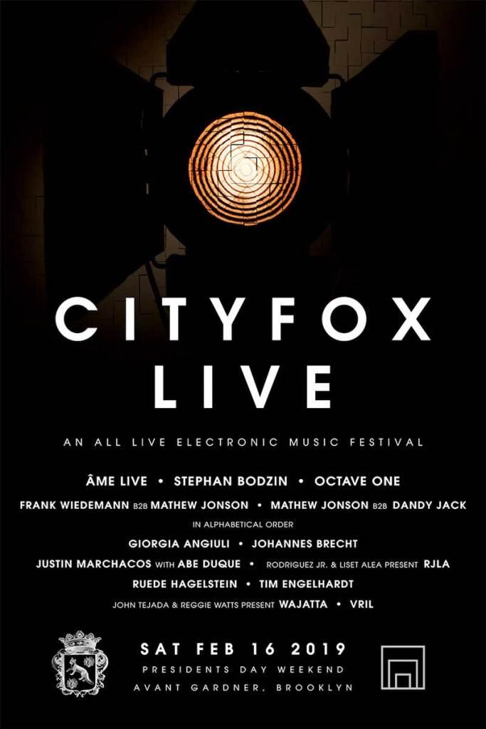 City Fox Live Festival 2019 in New York poster