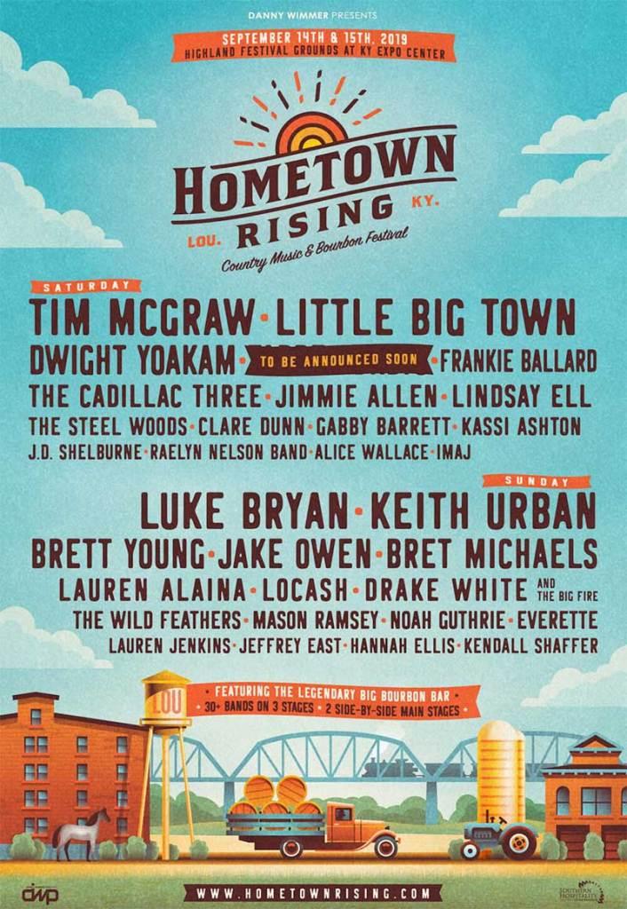 Hometown Rising Festival 2019 poster