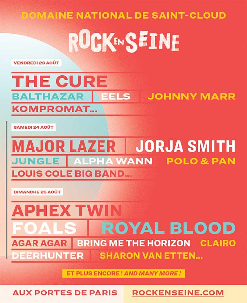 Rock en Seine 2019 poster