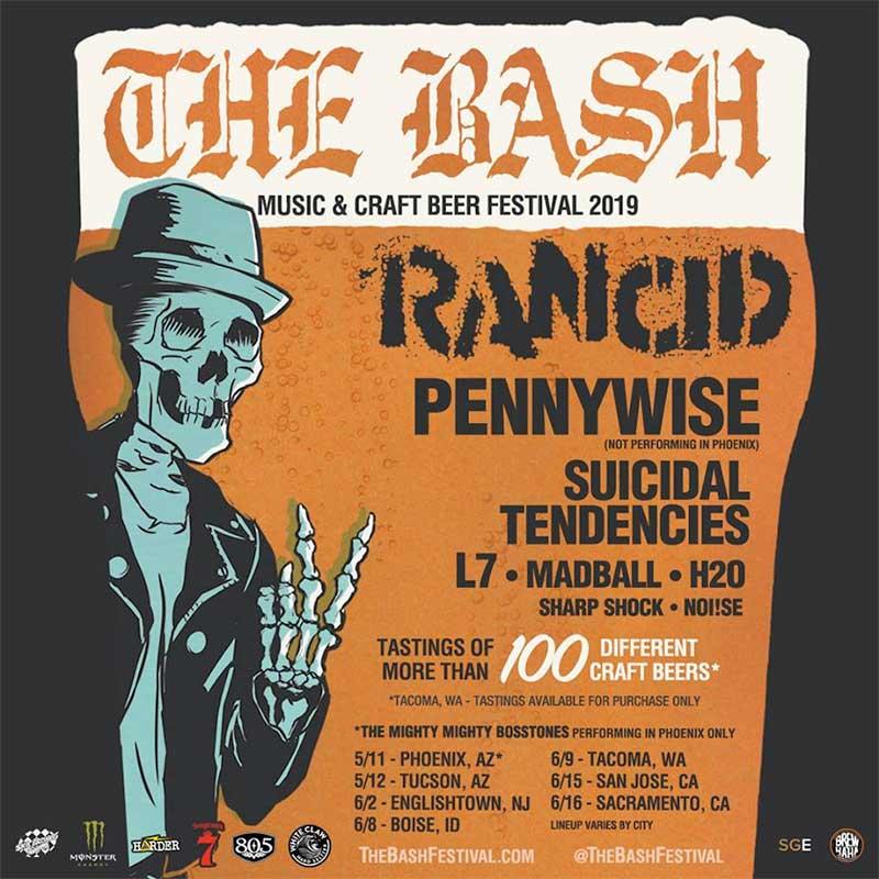 The Bash Festival 2019 poster