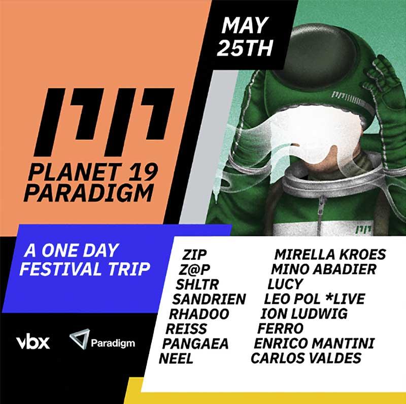 Planet Paradigm Festival 2019 poster