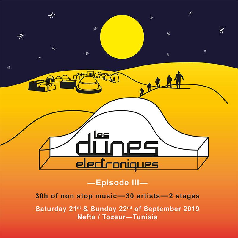 Les Dunes Electroniques 2019 poster