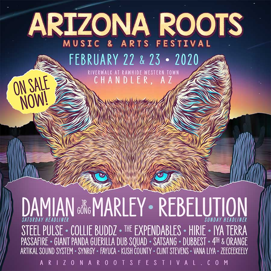 Arizona Roots Festival 2020 first bands poster