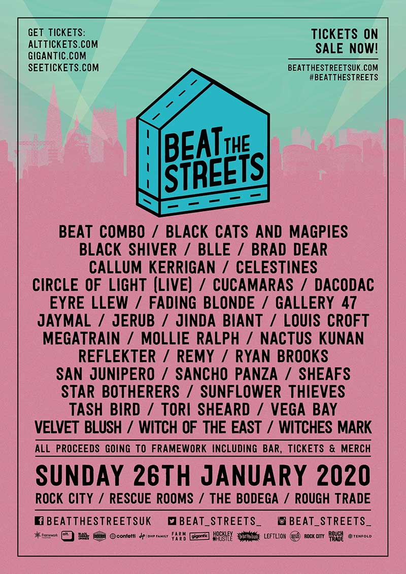 Beat The Streets Festival 2020 UK poster