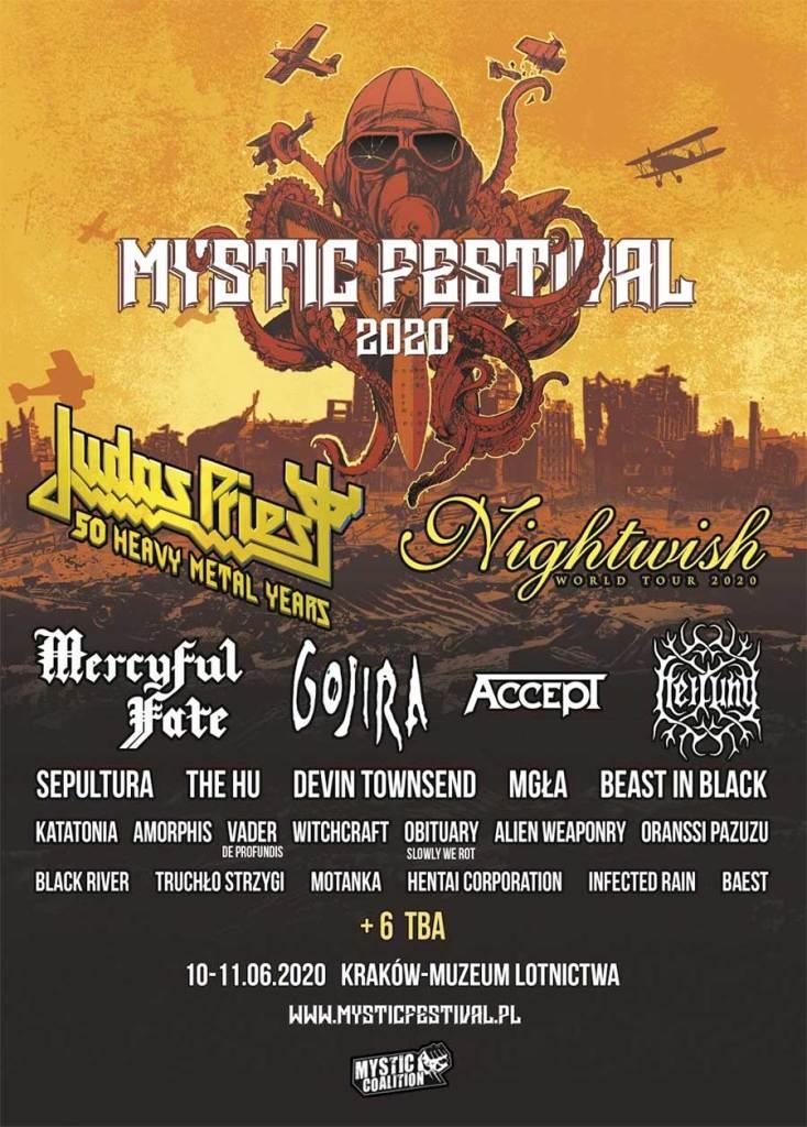 Mystic Festival 2020 Devin Townsend poster