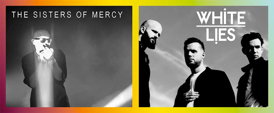 Sisters of Mercy and White Lies-play Suikerrock Festival 2020