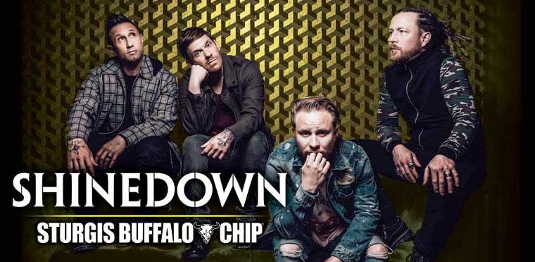 Sturgis Buffalo Chip 2020 Shinedown