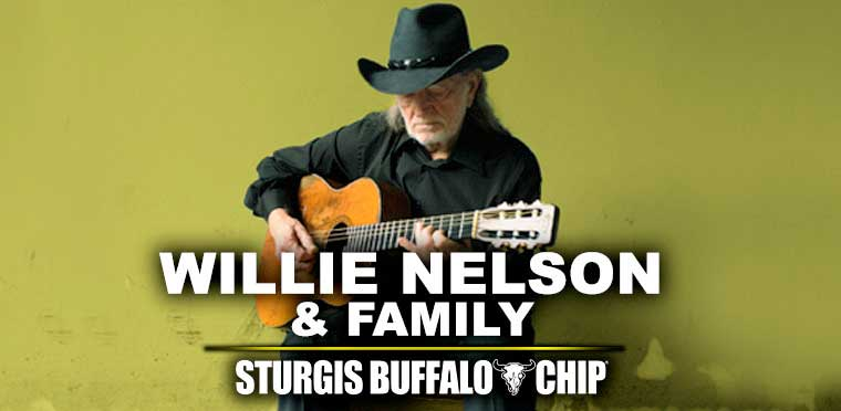 Sturgis Buffalo Chip 2020 Willie Nelson