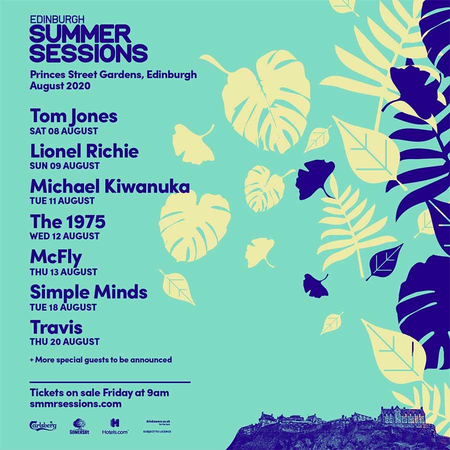 Edinburgh Summer Sessions 2020 poster