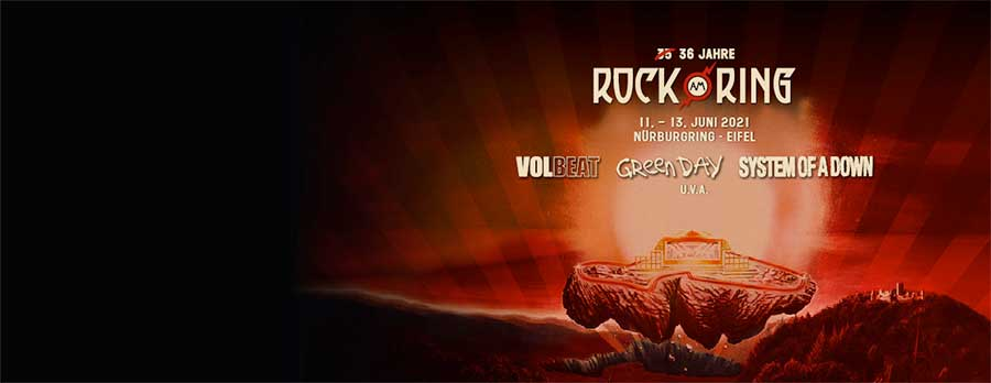 Rock am Ring 2021 tickets from Eventim Germany