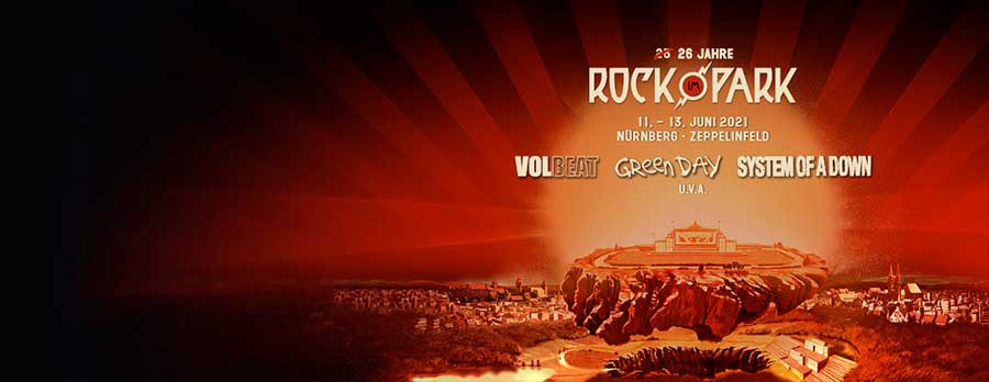 Rock im Park 2021 tickets from Eventim Germany