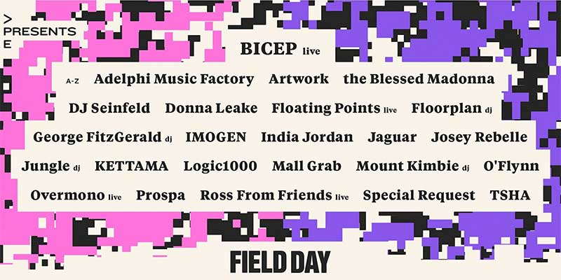 All Points East presents Field Day line up 2021