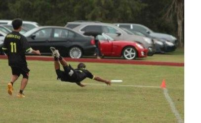 Ultimate Frisbee Layout