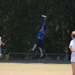 Big jump Ultimate Frisbee Bobby Owens