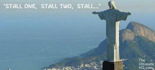 Funny Ultimate meme of brazil stalling