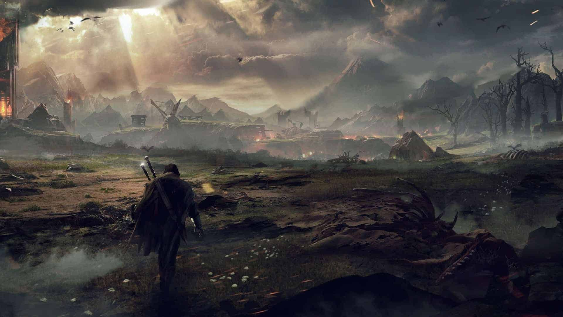 Middle Earth Shadow Of Mordor Gravewalker E3 Trailer Out