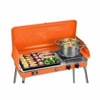 Liquid Propane steel Orange Grill