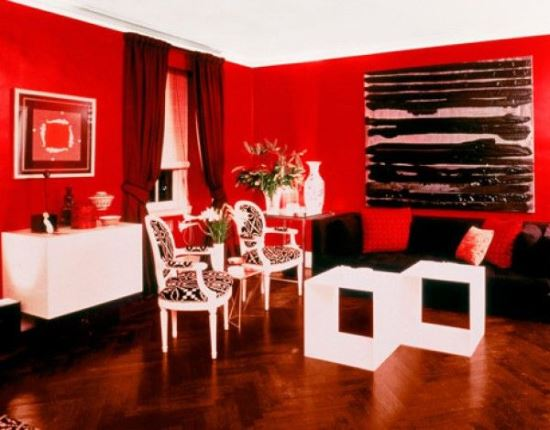 51 Red Living Room Ideas