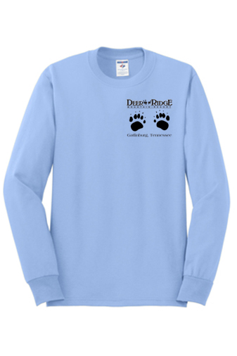 Paw Prints HC Light Blue