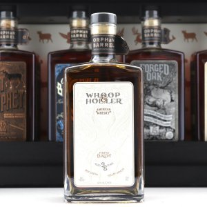 Orphan Barrel Whoop & Holler 28 Year Old American Whiskey Orphan Barrel Whoop & Holler28-year-old charcoal-mellowed American whiskey. Whoop & Holler originates from the George Dickel Distillery in Tullahoma, Tennessee. The whiskey is chilled and then charcoal mellowed with Tennessee sugar maple charcoal that is burned onsite, the company says. Whoop & Holler has a mash bill of 84% corn, 8% rye and 8% malted barley. On the nose is corn kennel, citrus peel and honey notes, the company says, followed by an oak-forward flavor with spicy peppercorn, clove, dark chocolate and peanut shell notes. TypeWhiskey (American) Price RangeAbove $100 ProducersOrphan Barrel Whiskey Distilling Co Size750ml CountryUSA RegionTennessee Nose: Corn kernel and tobacco with bright citrus peel and slight honey notes Taste: Oak forward with spicy peppercorn, clove, dark chocolate and peanut shell tones Finish: Long and dry