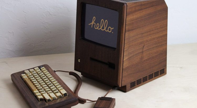 All Hail The Golden Apple: A Redesigned Macintosh 128K